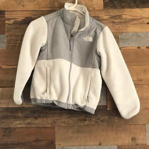 Girls' Grey Fleece Size 7/8 The North Face